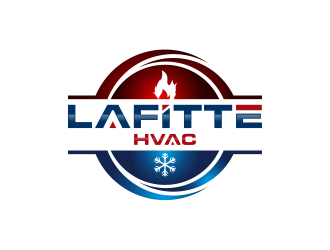 LaFitte HVAC LLC  logo design concepts #1