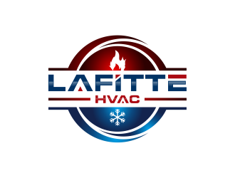 LaFitte HVAC LLC  logo design concepts #2