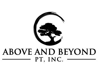 Above and Beyond PT, Inc. logo design