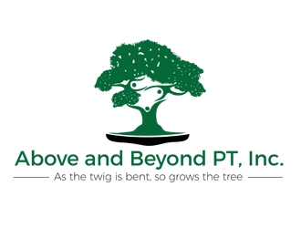 Above and Beyond PT, Inc. logo design concepts #6