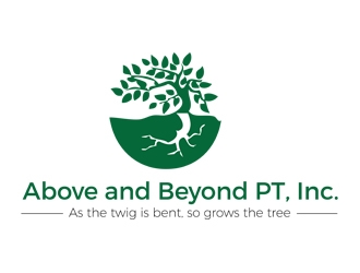 Above and Beyond PT, Inc. logo design concepts #7