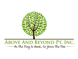 Above and Beyond PT, Inc. logo design concepts #9