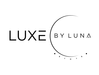 Luxe by Luna logo design concepts #15