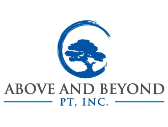 Above and Beyond PT, Inc. logo design concepts #3