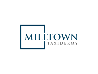 Milltown Taxidermy logo design concepts #1