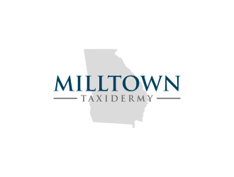 Milltown Taxidermy logo design concepts #3
