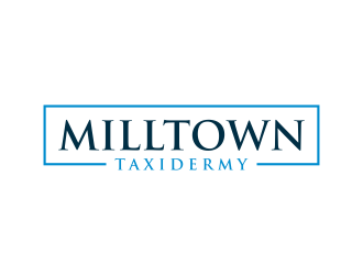 Milltown Taxidermy logo design concepts #4
