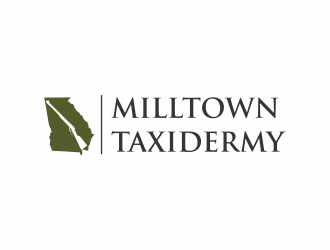 Milltown Taxidermy logo design concepts #6