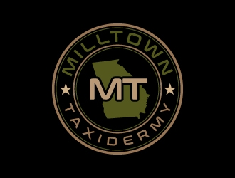 Milltown Taxidermy logo design concepts #7