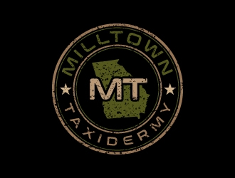 Milltown Taxidermy logo design concepts #8