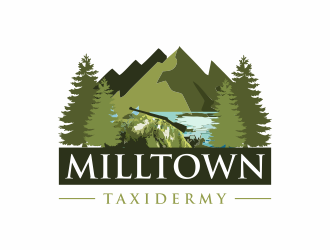 Milltown Taxidermy logo design concepts #9