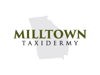 Milltown Taxidermy logo design concepts #10