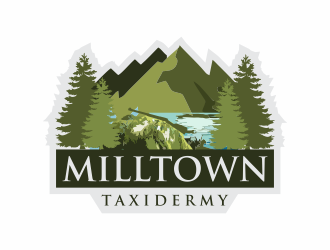 Milltown Taxidermy logo design concepts #11
