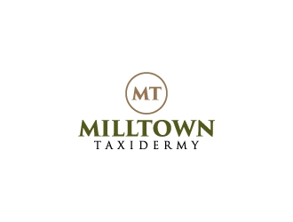 Milltown Taxidermy logo design concepts #12