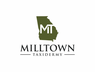 Milltown Taxidermy logo design concepts #13