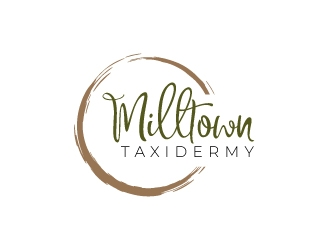 Milltown Taxidermy logo design concepts #14