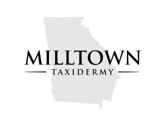 Milltown Taxidermy logo design concepts #15
