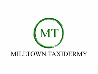 Milltown Taxidermy logo design concepts #17