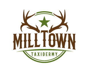 Milltown Taxidermy logo design concepts #18