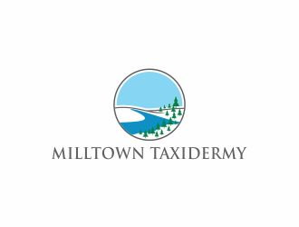 Milltown Taxidermy logo design concepts #20