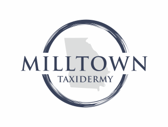 Milltown Taxidermy logo design concepts #21