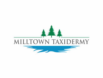 Milltown Taxidermy logo design concepts #22
