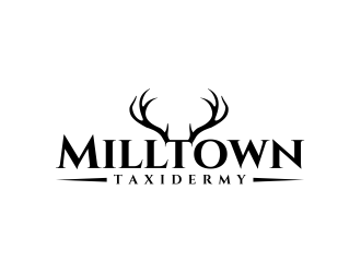 Milltown Taxidermy logo design concepts #23