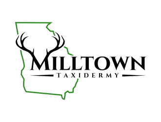 Milltown Taxidermy logo design