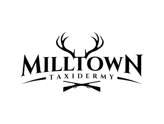 Milltown Taxidermy logo design concepts #26