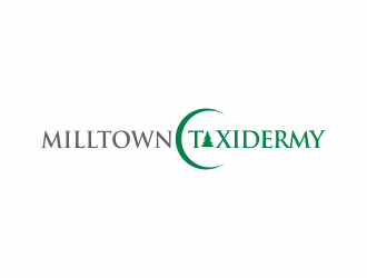 Milltown Taxidermy logo design concepts #28