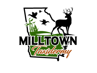 Milltown Taxidermy logo design concepts #29