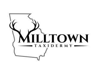 Milltown Taxidermy logo design concepts #2