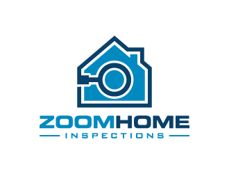 Zoom Home Inspections  logo design