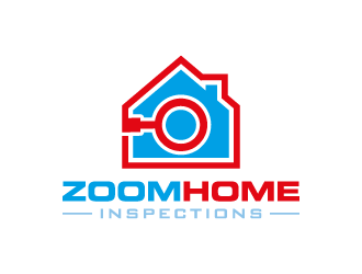 Zoom Home Inspections  logo design concepts #2