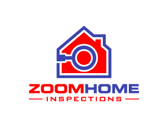 Zoom Home Inspections  logo design concepts #3