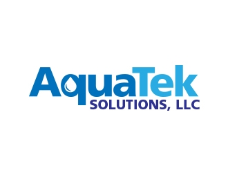 AquaTek Solutions, LLC logo design