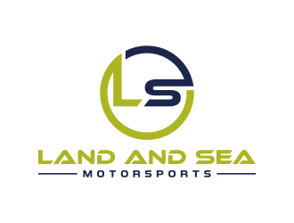 land and sea motorsports logo design concepts #1