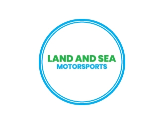 land and sea motorsports logo design concepts #2