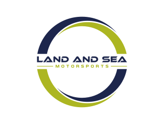 land and sea motorsports logo design concepts #3