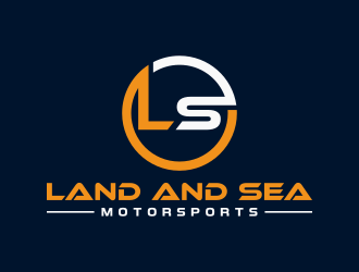 land and sea motorsports logo design concepts #4