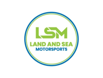 land and sea motorsports logo design concepts #5