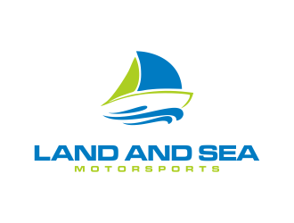 land and sea motorsports logo design concepts #7