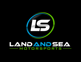 land and sea motorsports logo design concepts #9