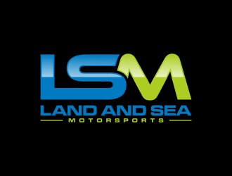 land and sea motorsports logo design concepts #14