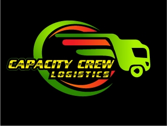 Capacity Crew Logistics  logo design concepts #12