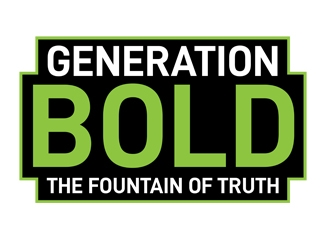 Generation Bold: The Fountain of Truth logo design