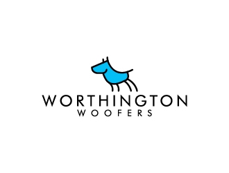 Worthington Woofers logo design concepts #1