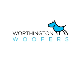 Worthington Woofers logo design concepts #3
