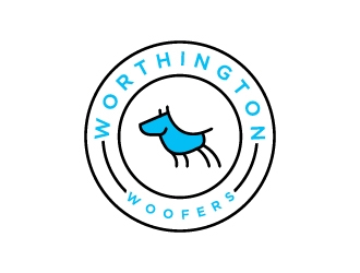 Worthington Woofers logo design concepts #5