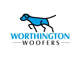 Worthington Woofers logo design concepts #6